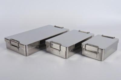 Cajas para instrumental y bandejas
