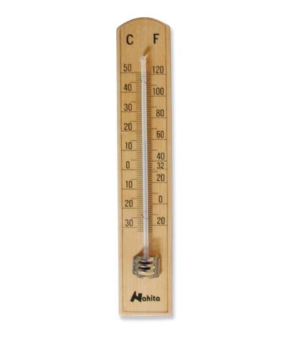 Term metro ambiente madera 30 50 c medica marquet - Termometro de pared ...