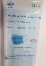 face mask steril